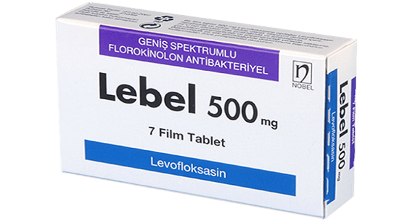 Lebel 500mg 7 Tablets