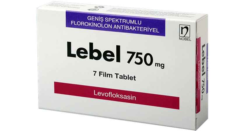 Lebel 750mg 7 Tablets