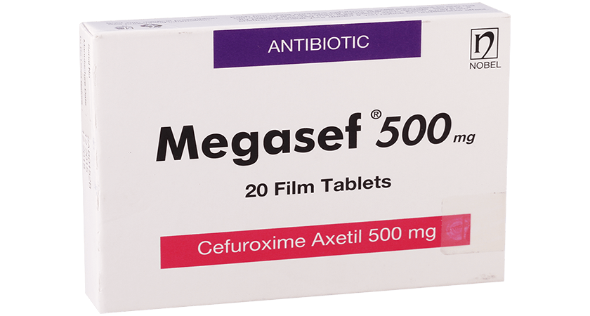 Megasef 500mg 10 Tablets