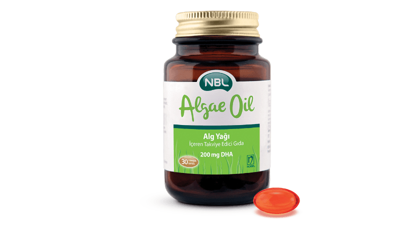 NBL Algae Oil 200mg 30 Capsules
